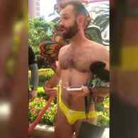 Man Kicked Out of Vegas' 'Encore Beach Club' for 'Being a Gay Man Wearing a Swimsuit That Was a Little Too Gay' – WATCH