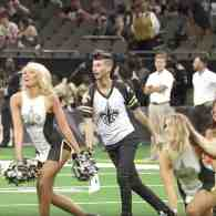 First Male NFL Cheerleader Makes Historic Debut: WATCH
