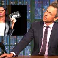 Seth Meyers Assesses the Fallout from Omarosa's Secret Recording Spree: WATCH