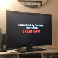 Sacha Baron Cohen Thanks Sarah Palin, Whose Clip Never Aired, for Publicizing His Show