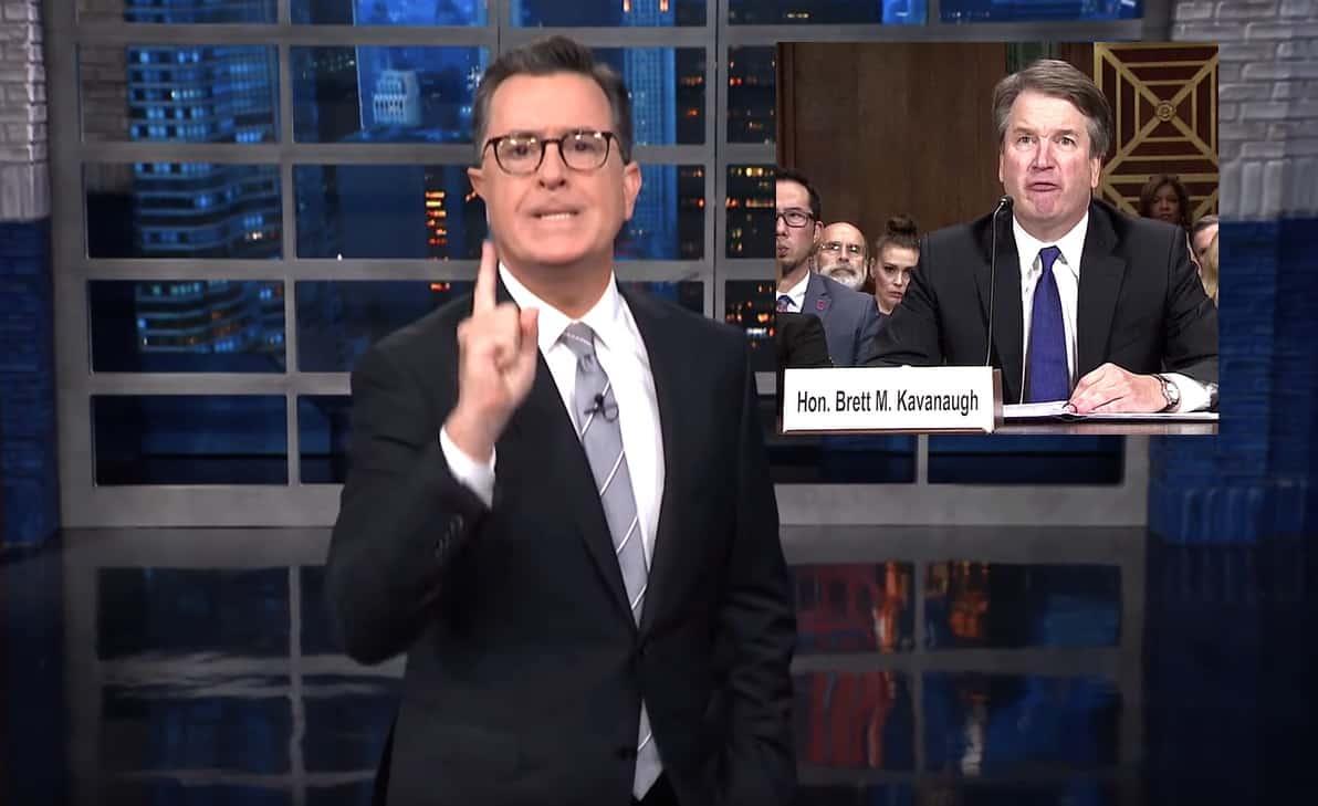 Stephen Colbert Brett Kavanaugh