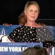 Cynthia Nixon concession