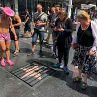 Artist Affixes Prison Bars to Donald Trump's Hollywood Walk of Fame Star: WATCH