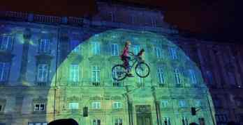 Lyon Light Festival display