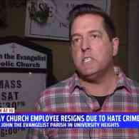 Gay Pastoral Associate Resigns from Catholic Church Over Hate Crime Attacks by Church Militants, Right-wing Websites