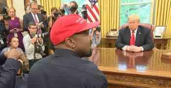 kanye trump oval office