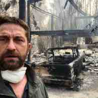 Gerard Butler Shares Video of His Scorched Malibu Home as California Fires Rage On; 31 Dead, 228 Missing – VIDEOS