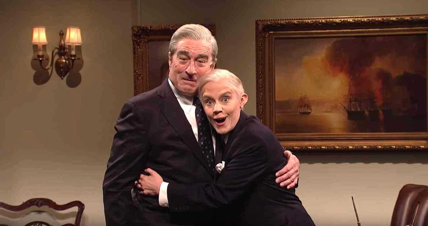 Robert De niro kate mckinnon jeff sessions snl