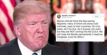 trump migrants