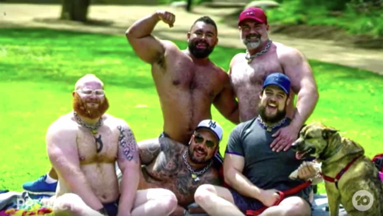 Scrotum bear gay