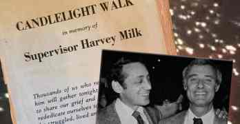 harvey milk candlelight walk