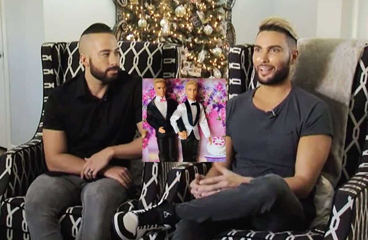 Mattel same sex wedding doll