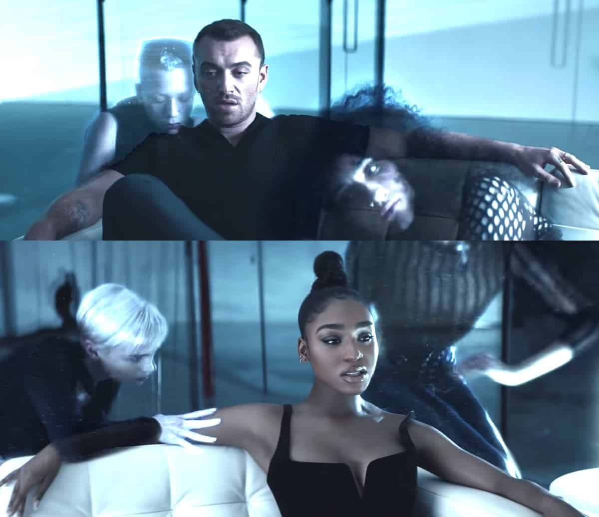Dancing with a Stranger Sam Smith Normani