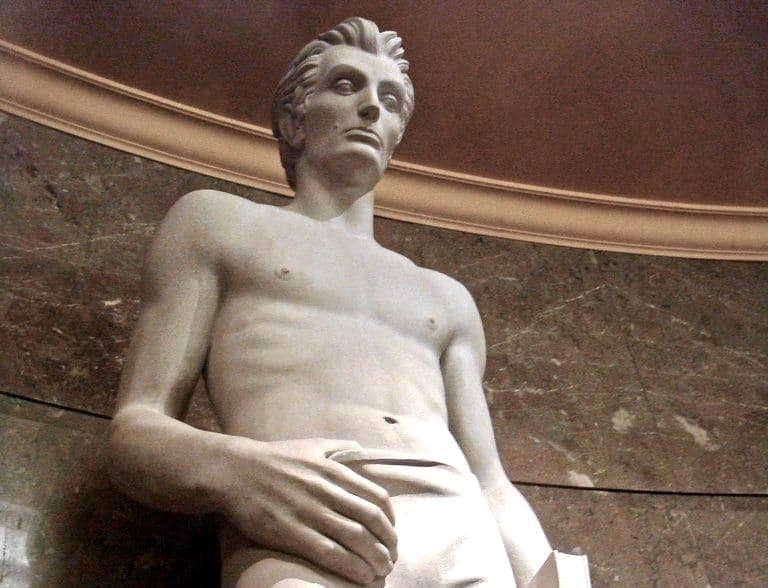 thirst trap abe lincoln