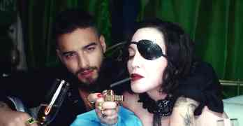 medellin video Madonna Maluma