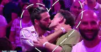 gay kiss eurovision