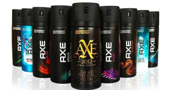 axe body spray pride