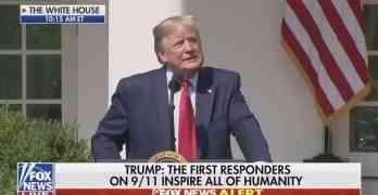 trump first responders