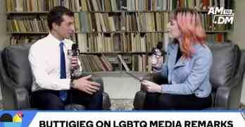Pete Buttigieg LGBTQ media