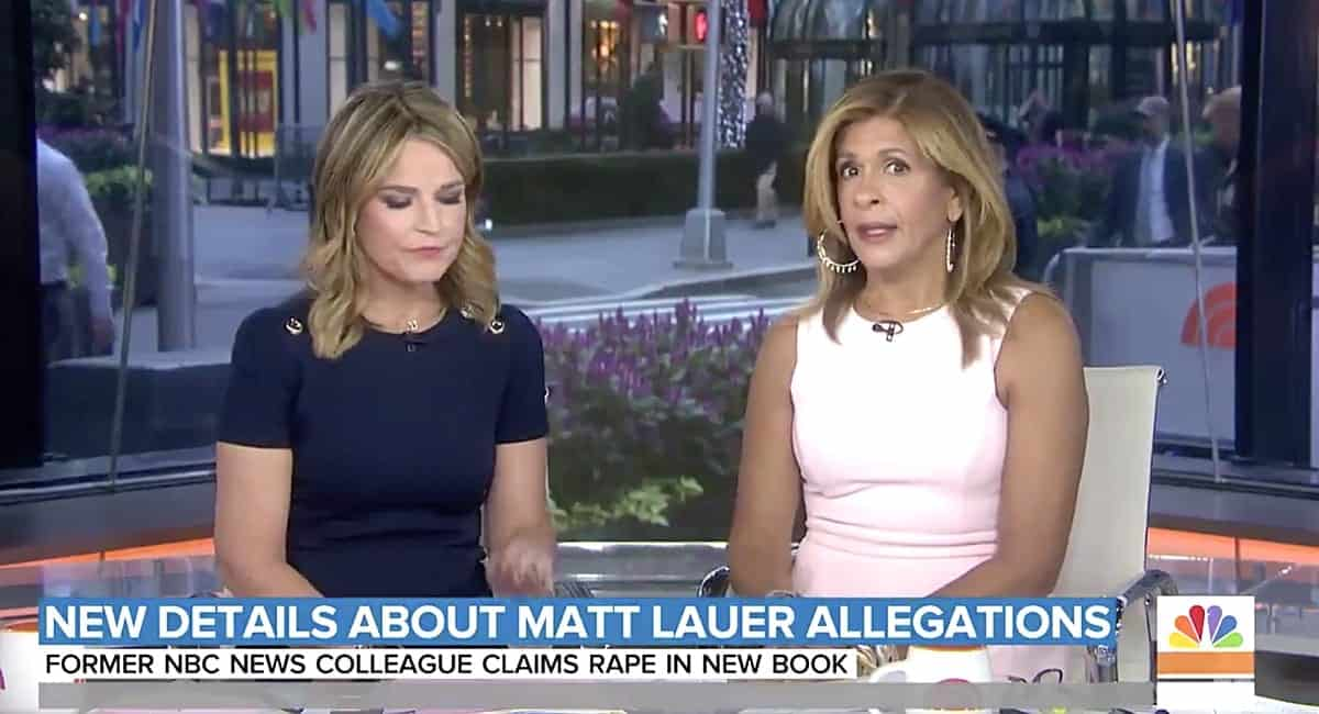 Matt Lauer rape