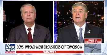sean hannity lindsey graham impeachment