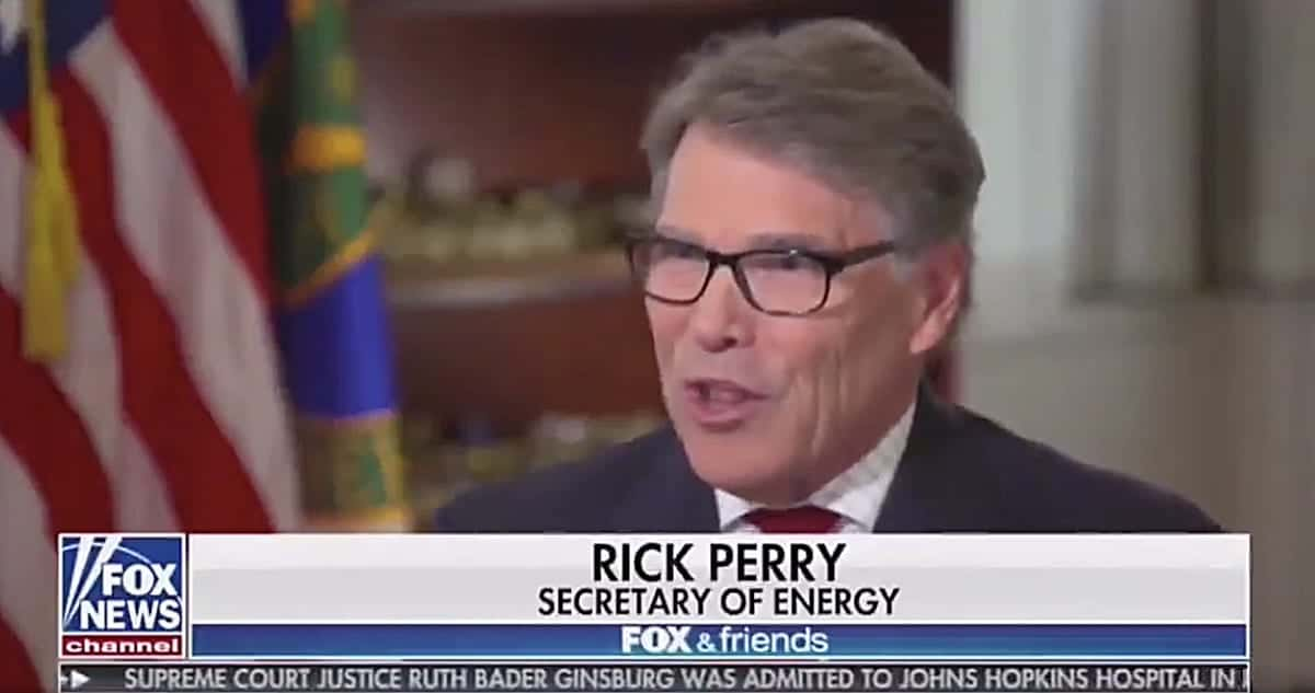 Rick Perry tells Donald Trump: 'You really are the chosen one'