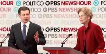 Pete Buttigieg Elizabeth Warren