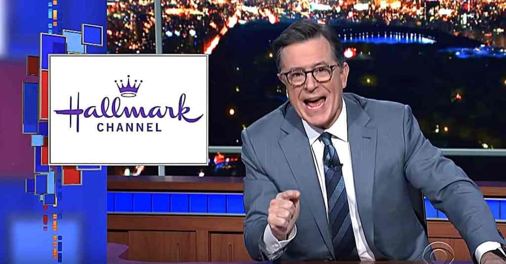 Hallmark One Million Moms Stephen Colbert
