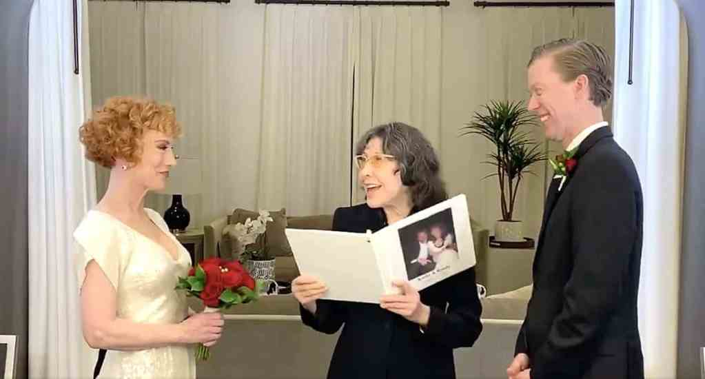 Kathy Griffin married
