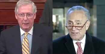 mitch McConnell chuck schumer impeachment