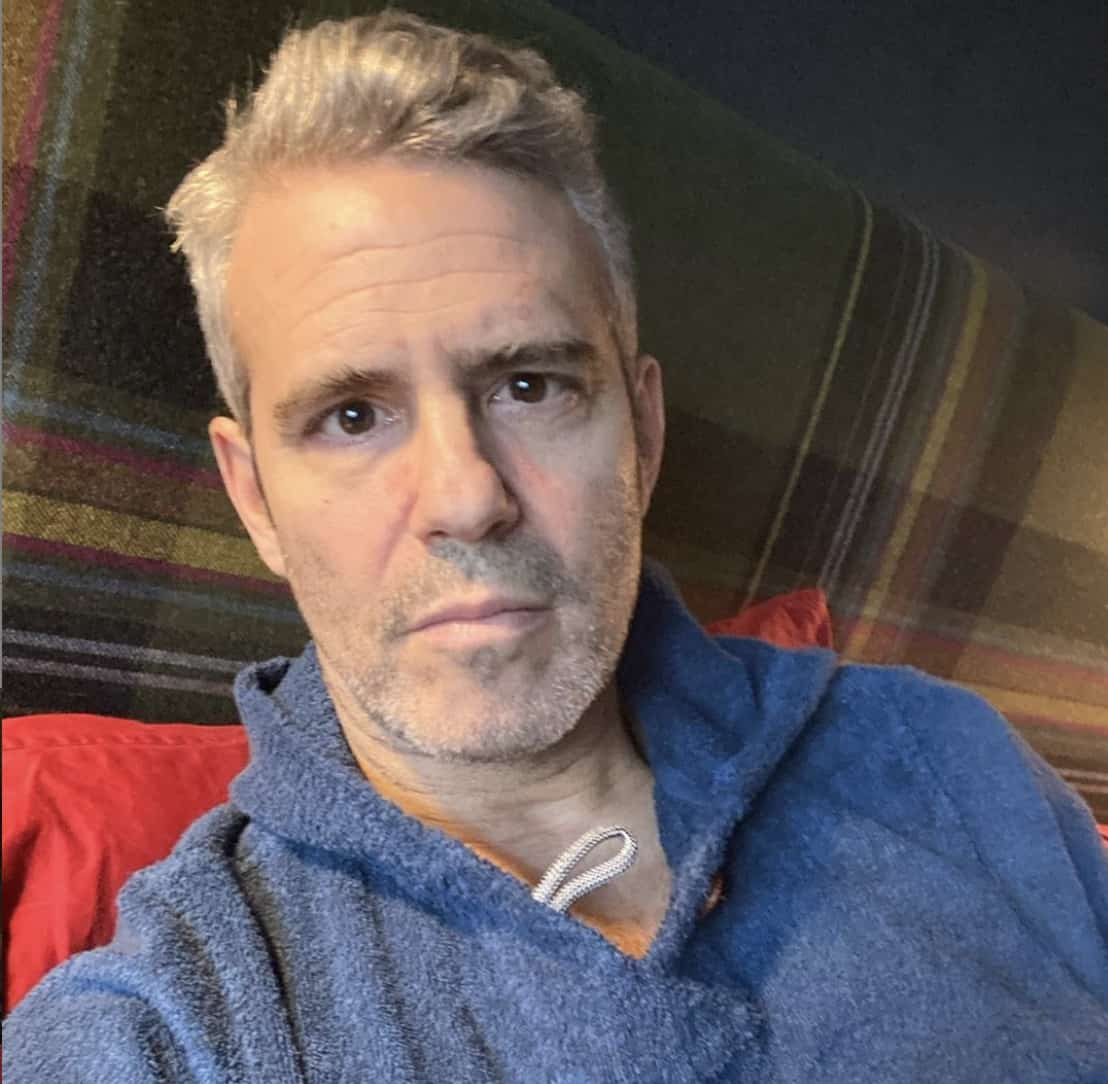 Andy Cohen Returning to 'WWHL' After Being Diagnosed with COVID-19