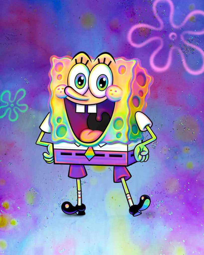 spongebob gay