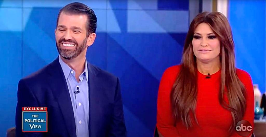 Donald Trump Jr Kimberly Guilfoyle