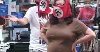 minnesota nazi face masks