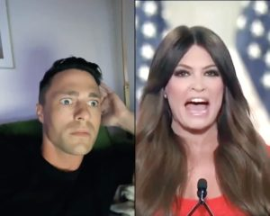 Colton Haynes Kimberly Guilfoyle