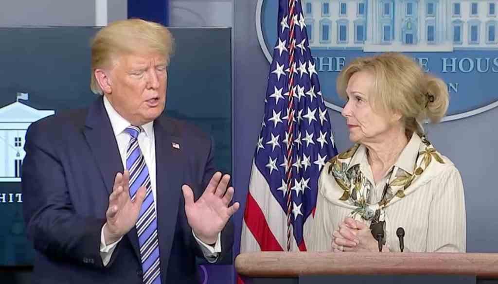 Donald Trump Deborah Birx