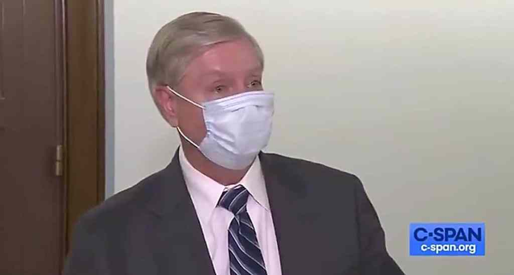 lindsey graham mask
