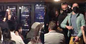 tiffany trump heckled