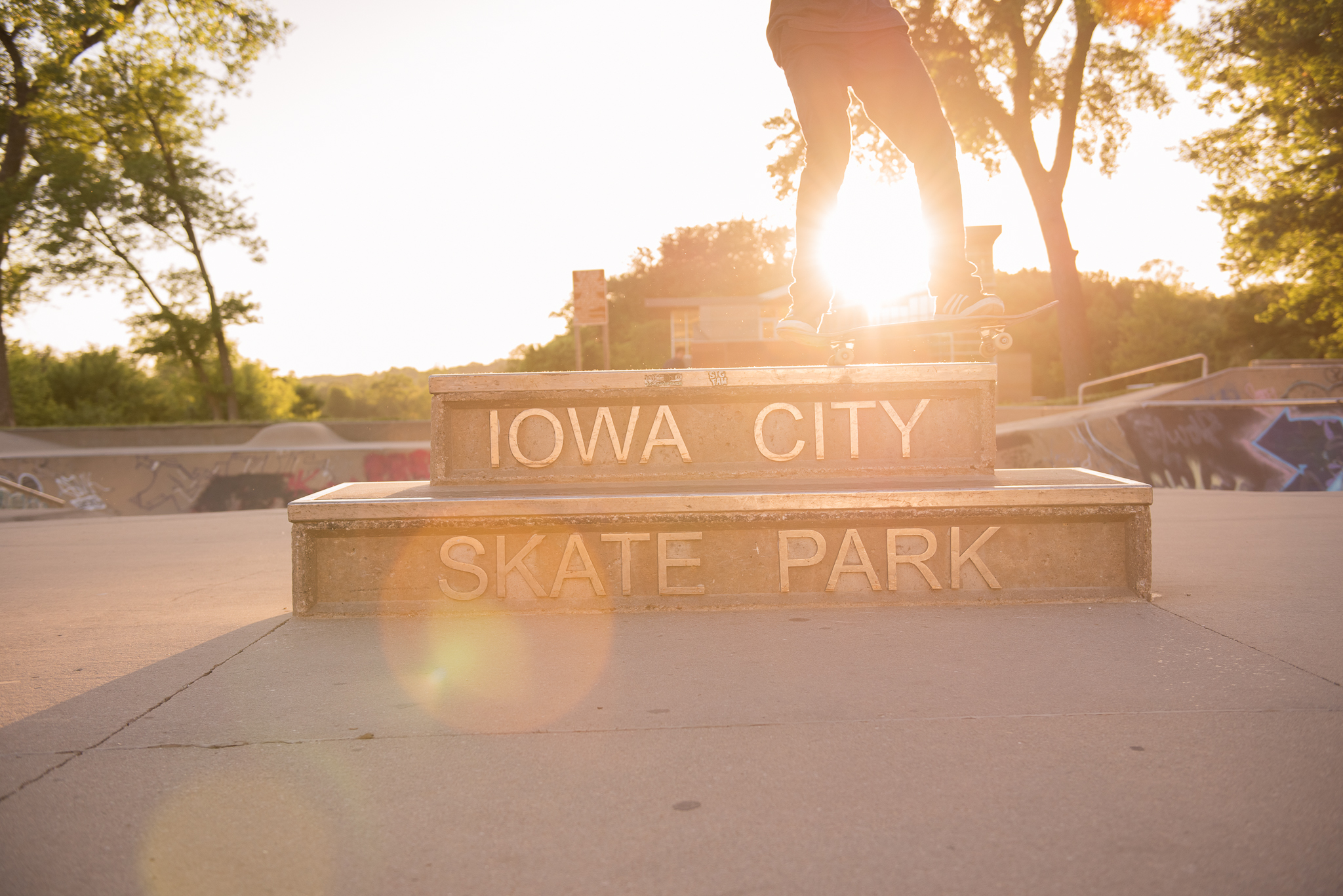 Senior Pictures Iowa City Skate Park Ivy Towler-306