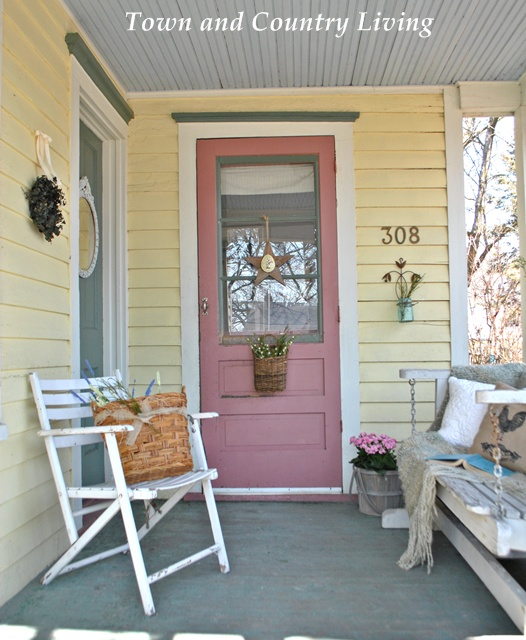 exterior rocking chairs french barrel back dining chair my farmhouse porch is anxious for spring - town & country living