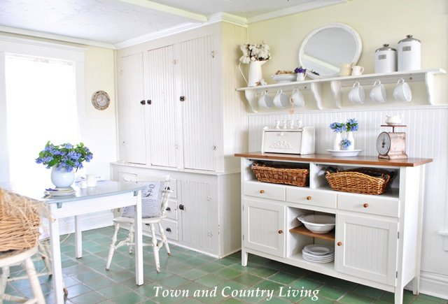 My Farmhouse Kitchen  Town  Country Living