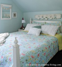 Summer Decorating in My Farmhouse Bedroom - Town & Country ...