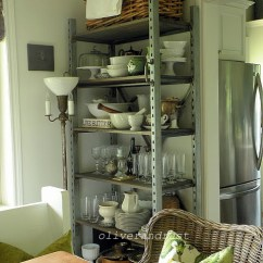 Kitchen Sideboard Cabinet Stand Alone Charming Eclectic Vintage Home ~ Oliver And Rust - Town ...