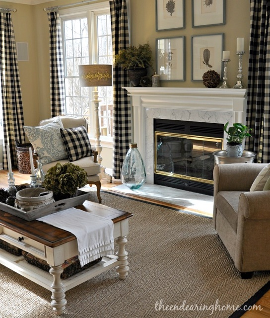 Charming Home Tour The Endearing Home Town Amp Country Living