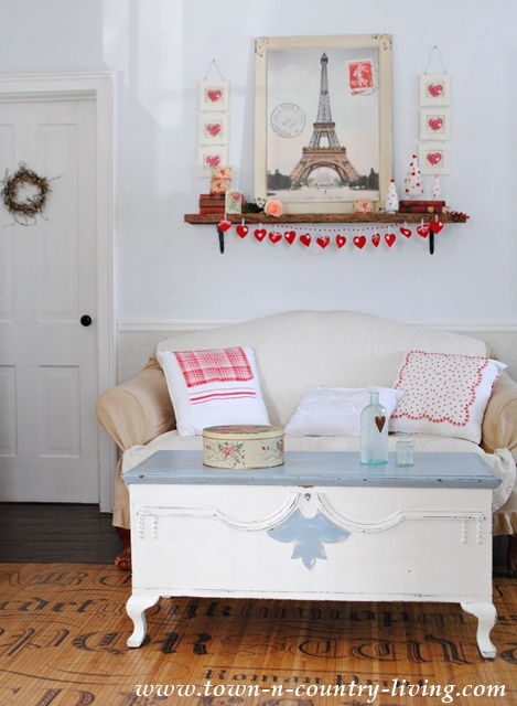 Valentines Day Decor In The Living Room Town Amp Country