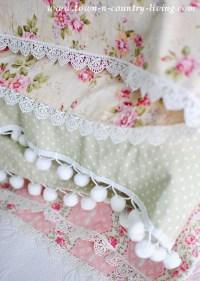 DIY Vintage Style Pillow Cases - Town & Country Living