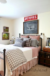 Charming Home Tour ~ Savvy Southern Style - Town & Country ...