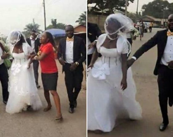 Bride Disappears