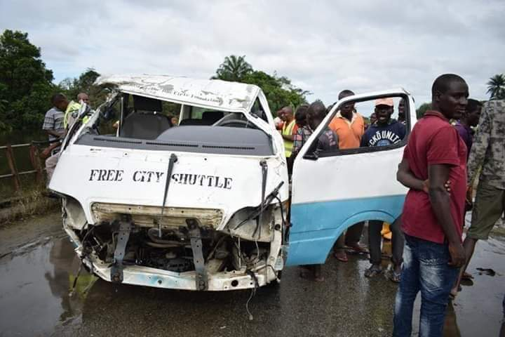 Pythons, Flood Ravage Rivers State Communities As 14 Seater Bus Plunged Into River