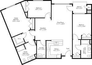 3 Bed / 2 Bath / 1,531 sq ft / Rent: Please Call
